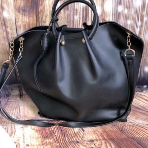 Large Purse Bag Black